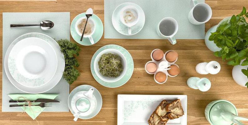 Zastawa stołowa z serii Leaves.