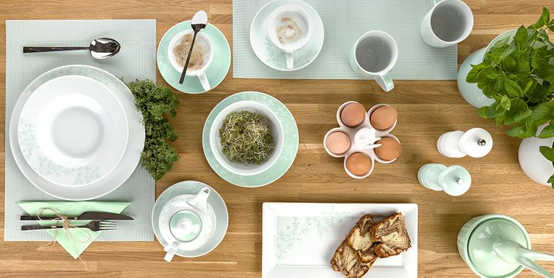 Zastawa stołowa Florina Leaves.